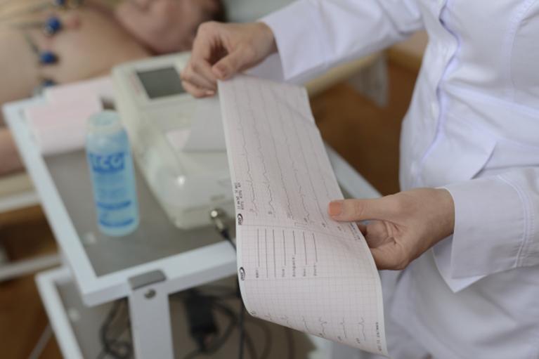 学校心臓検診